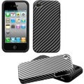 BasAcc Lizzo/ Racing Fiber Fusion Case for Apple iPhone 4S/ 4