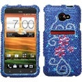 BasAcc Juicy Flower/ Diamante Case for HTC EVO 4G LTE