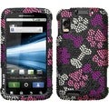 BasAcc Puppy Lover Diamante Case for Motorola MB860 Olympus/ Atrix 4G