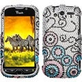 BasAcc Bubble Flow/ Diamante Case for HTC myTouch 4G