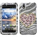 BasAcc Playful Leopard Diamante Phone Case for LG LS855 Marquee