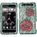 BasAcc Ladybugs Diamante Phone Case for Motorola XT912 Droid Razr