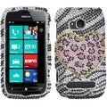 BasAcc Playful Leopard Diamante Case for Nokia 710 Lumia