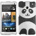 BasAcc Playful Panda Diamante Case for HTC One M7