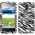 BasAcc Zebra Skin Phone Case for Huawei M931 Premia 4G