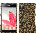 INSTEN Jeweled Jaguar Diamante Phone Case Cover for LG E970 Optimus G