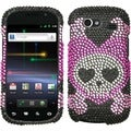 BasAcc Love Skull Diamante Phone Case for Samsung NXS Nexus S