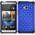 BasAcc Luxurious Lattice Dazzling TotalDefense Case for HTC One/ M7