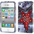 BasAcc Rock Star Jeans Case for Apple iPhone 4S/ 4