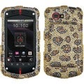 BasAcc Leopard Skin/ Camel Diamante Case for Casio G'zOne Commando 4G