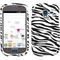 INSTEN Zebra Skin Phone Case Cover for Samsung T599 Galaxy Exhibit