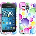 BasAcc Rainbow Bigger Bubbles Case for Kyocera C5215 Hydro Edge