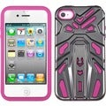 BasAcc Hybrid Zenobots Case for Apple iPhone 4S/ 4