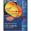 Avery Dennison Full Face CD Labels
