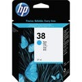 HP No. 38 Cyan Vivera Ink Cartridge
