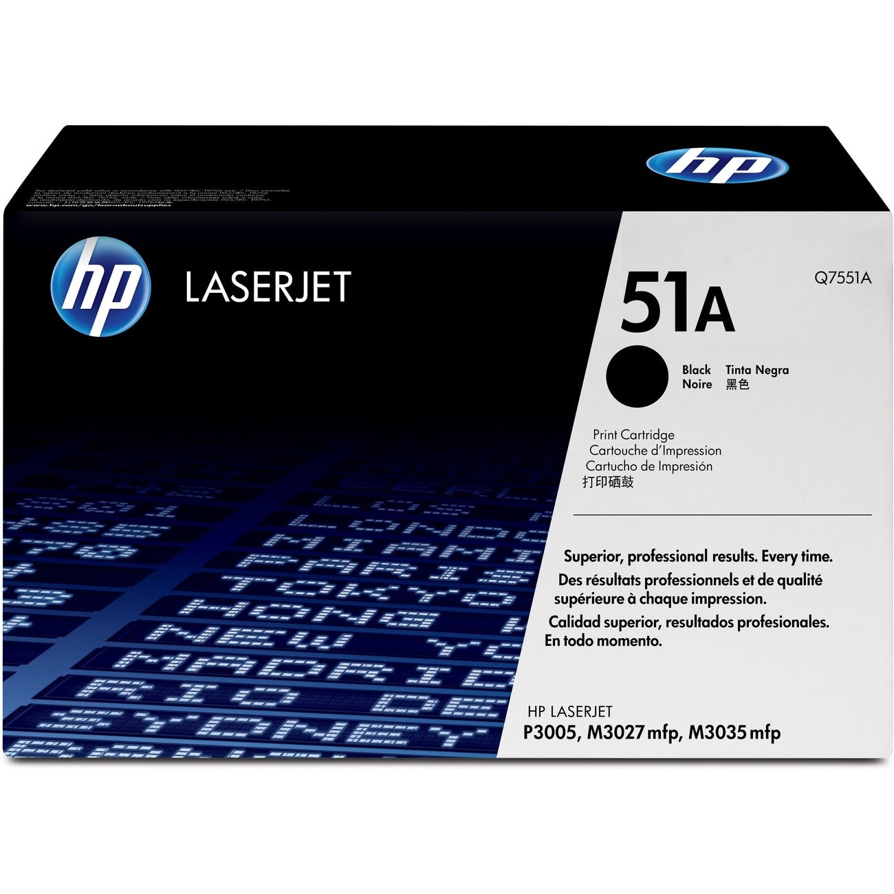 HP Black Toner Cartridge for LaserJet Tonr P3005/M3035 MFP