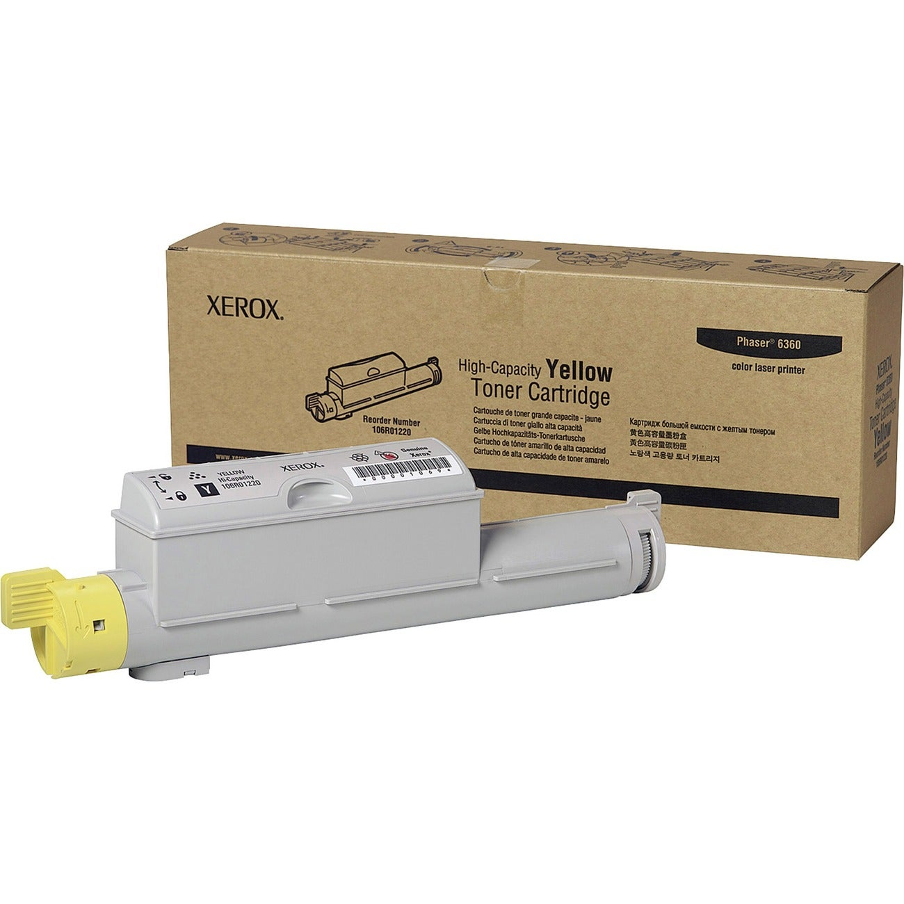 Xerox High Capacity Yellow Toner Cartridge