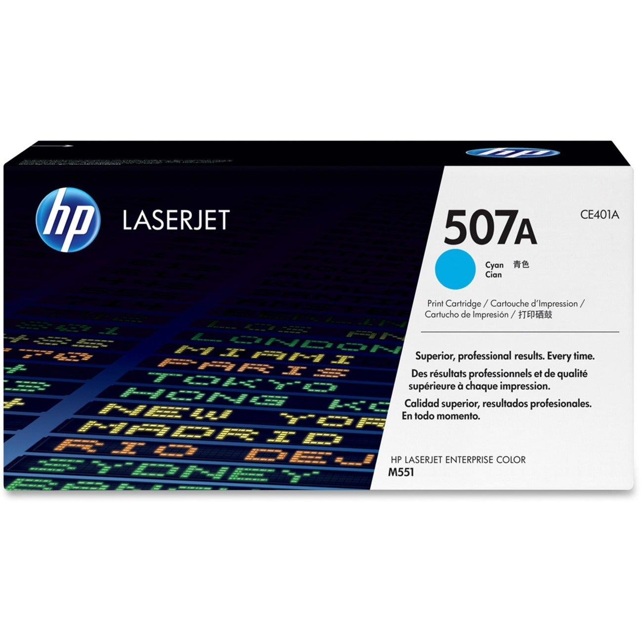 HP 507A Toner Cartridge - Cyan