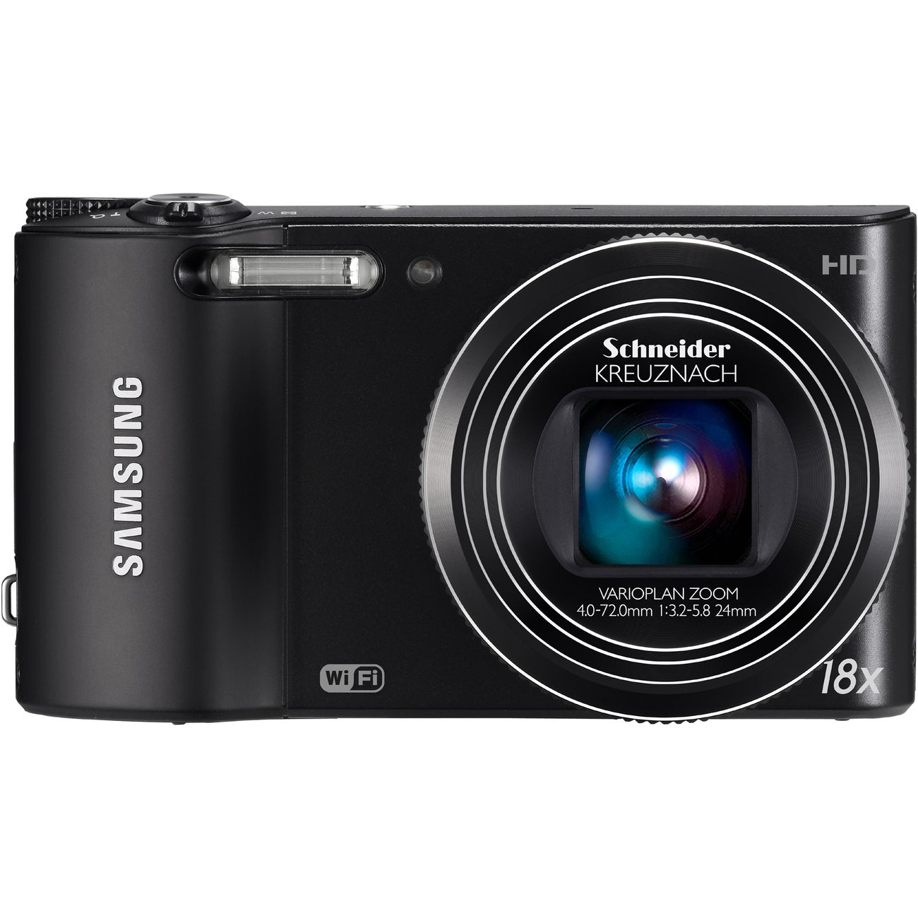 Samsung WB150F 14.2MP Black Digital Camera