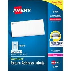 Avery Easy Peel Address Label