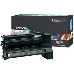 Lexmark Cyan High Yield Return Program Toner Cartridge