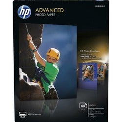 HP Advanced Glossy Photo Paper - 60 Sheets