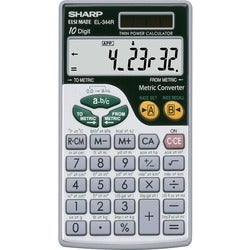 Sharp EL344RB Scientific Calculator