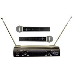 Pyle PDWM2500 Dual Wireless Microphone System