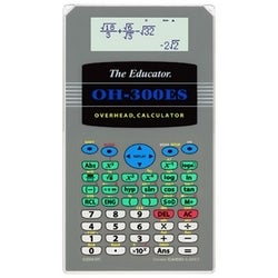 Casio Overhead Projectable Calculator