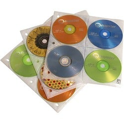 Case Logic 200 Capacity CD Album Refill Pages
