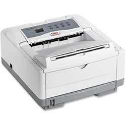 Oki B4600 LED Printer - Monochrome - 1200 x 600 dpi Print - Plain Pap