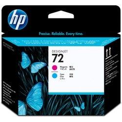 HP No. 72 Magenta and Cyan Printhead
