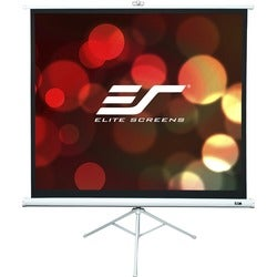 "Elite Screens Tripod T120NWV1 Portable Projection Screen (72"" Height x 96"" Width )"