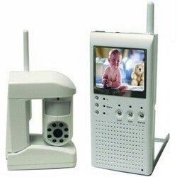 Q-see QSW25C 2.4GHz Wireless Color Portable Monitoring System