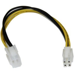 StarTech.com 8in ATX12V 4 Pin P4 CPU Power Extension Cable - M/F