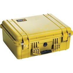 Pelican PELICAN 1550 CASE W/ PICK N' PLUCK FOAM YELLOW