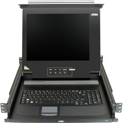 "Aten 17"" Single-Rail LCD Integrated Console"
