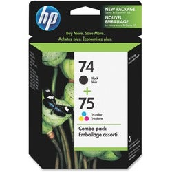 HP No.74/75 Black/ Tri-color Ink Cartridge