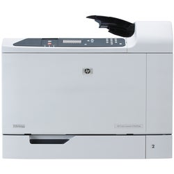 HP LaserJet CP6015DN Laser Printer - Color - Plain Paper Print - Desk