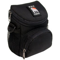 Norazza Black Nylon Camcorder/Digital Camera Case with Shoulder Strap