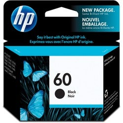 HP No.60 Black Ink Cartridge For Deskjet D2500, D2530 and F4200 All-i