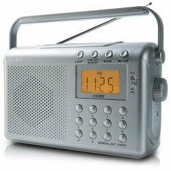 Coby Electronics CX-789 Digital AM/FM/NOAA Radio