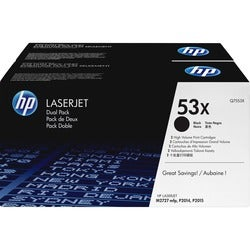 HP 53x Dual Pack Toner Cartridge