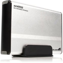 StarTech.com 3.5in Silver USB 2.0 to SATA External Hard Drive Enclosu