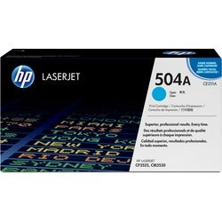 HP 504A Cyan Toner Cartridge