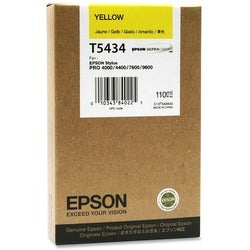 Epson Yellow Ink Cartridge - 3800 Page - Yellow - Package: 1