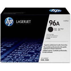 HP No. 96A Black Toner Cartridge for LJ TONR2100 2200D Series