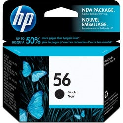 HP No. 56 Black Ink Cartridge for OfficeJet Printers