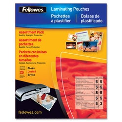 Fellowes 52018 Laminating Pouch