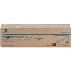 Black Toner Cartridge For Magicolor 1650EN Printer